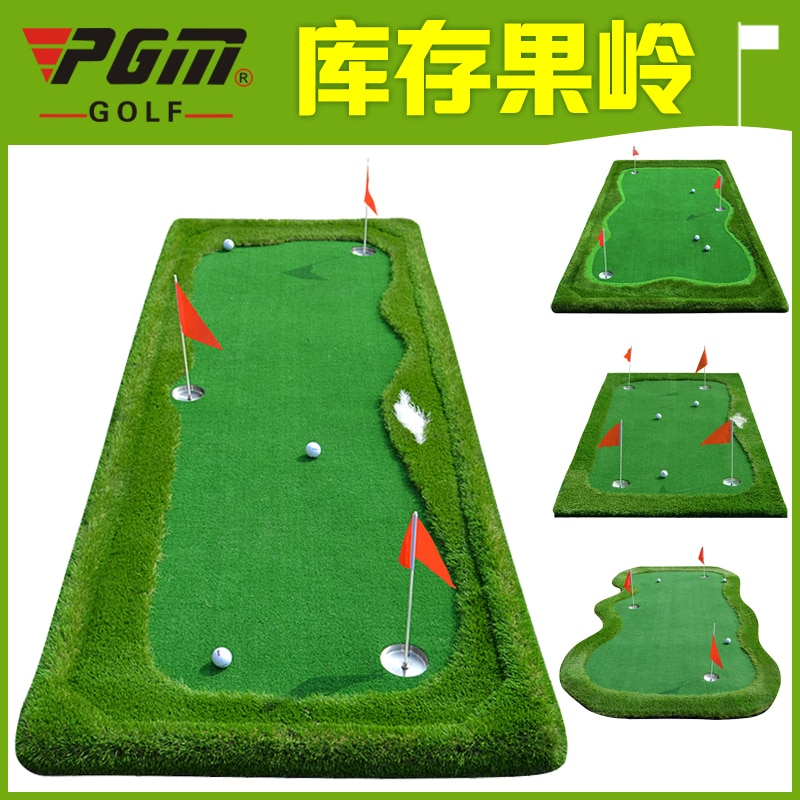 New Golf Driving Range Pad Dedicated Indoor Mini Golf Artificial Greens Putting Dreen Practice Exercises Blanket Kit Putting Mat