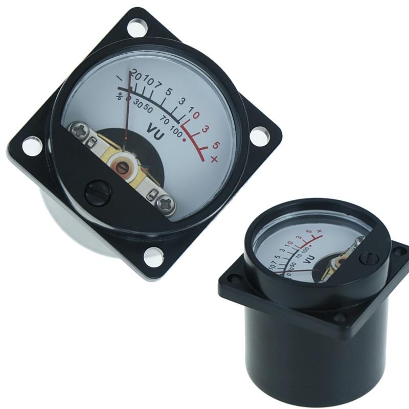 Gran oferta 6 V-12 V medidor de VU con panel bombilla cálida luz trasera de grabación de nivel de Audio Amp medidor de 1PC