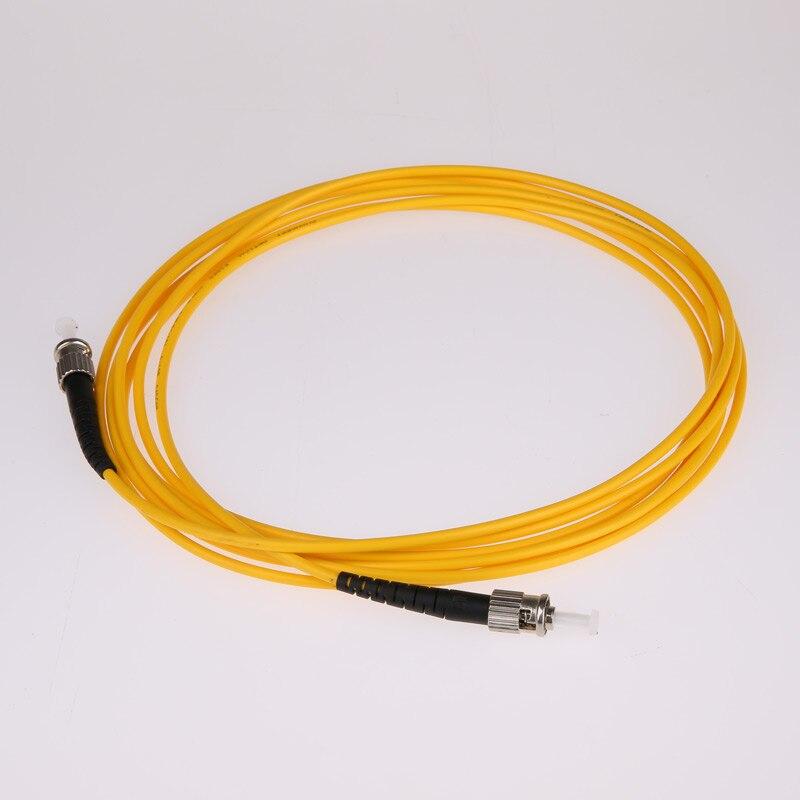 ST to ST Fiber Optic Jumper UPC Singlemode 9/125um Simplex 3 5 10 15 20 m Factory Minor Customization FTTH Patch Cord