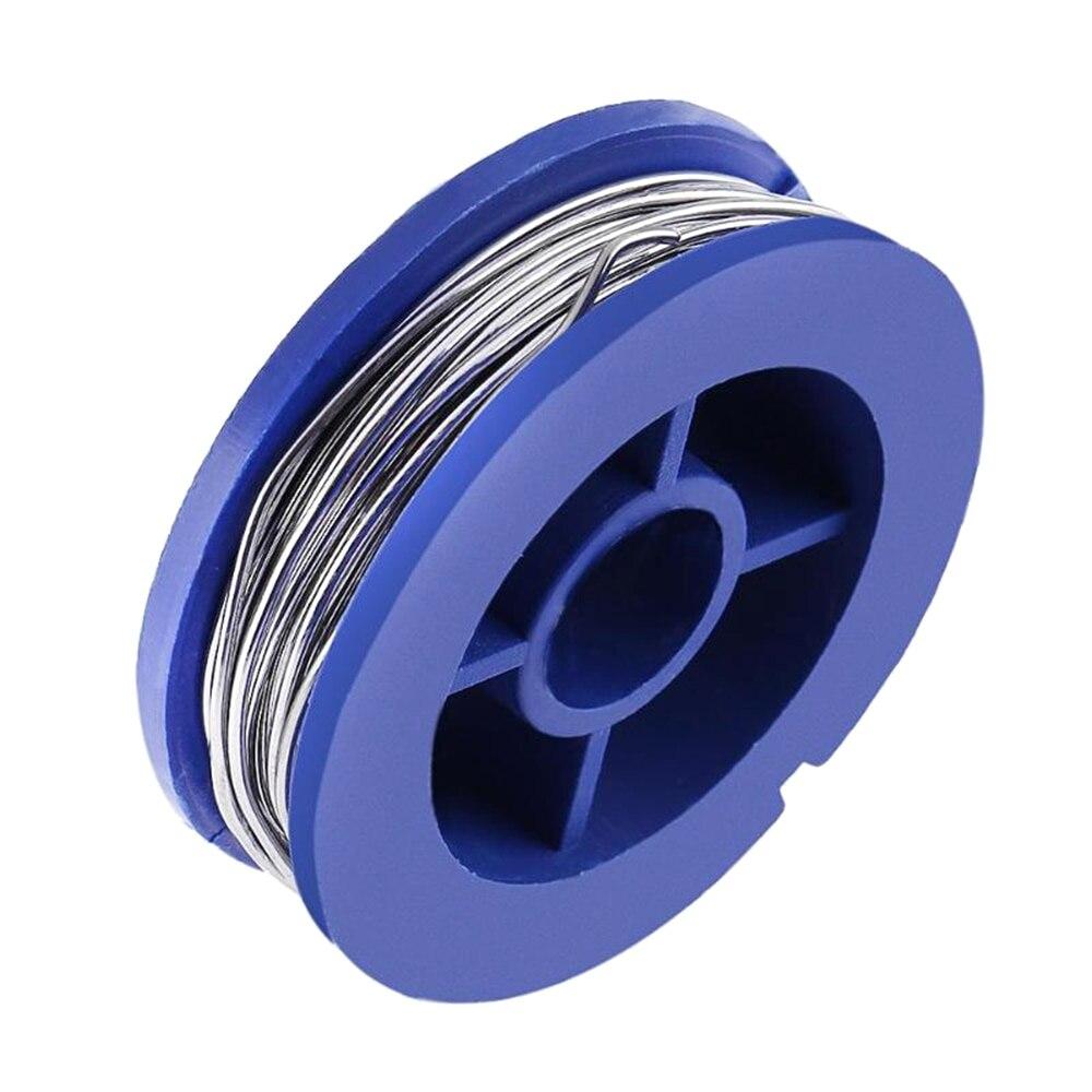 Alambre de soldadura de 0,8mm de estaño de soldadura de Pc Mini Alambre de soldadura puro para cables de soldadura de alta durabilidad sin estaño de flujo limpio alambre de soldadura