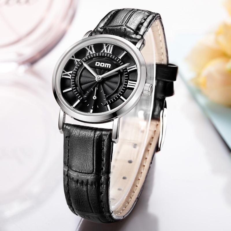 DOM Fashion Quartz Watch Women Watches Top Brand Luxury Clock Business Female WristWatch Waterproof Relogio Feminino G-3211L-1M enlarge