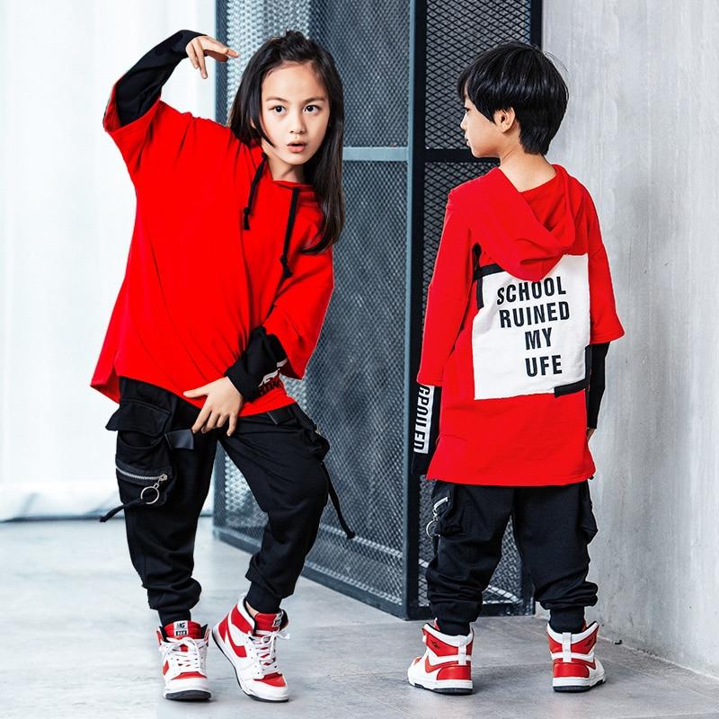 Детский костюм для хип-хопа, в Корейском стиле, в стиле хип-хоп