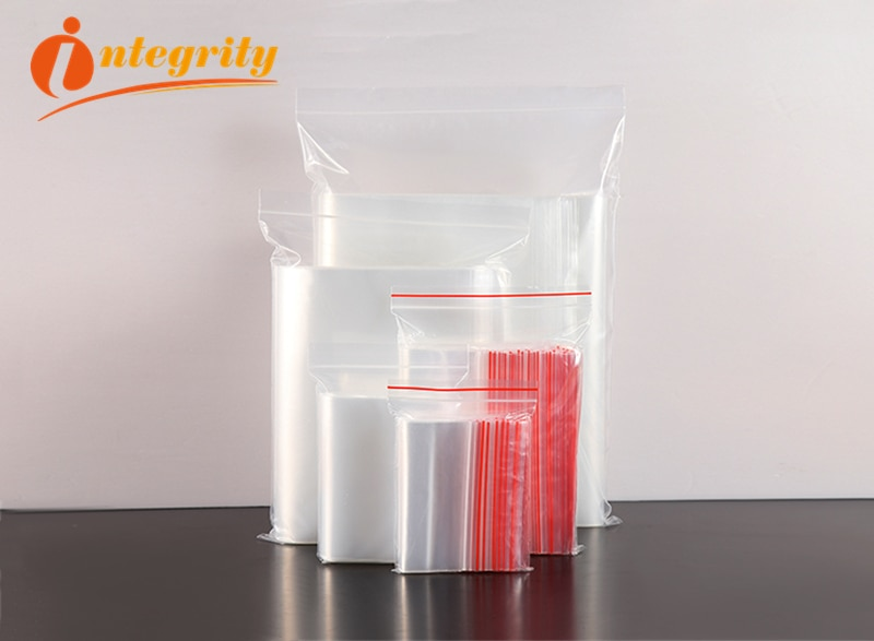 INTEGRITY 10000pcs/lot 7*11cm Jewelry/Cookie/Gifs/Zip lock Reclosable Plastic OPP Poly Clear Bags Transparent pouches zipper bag