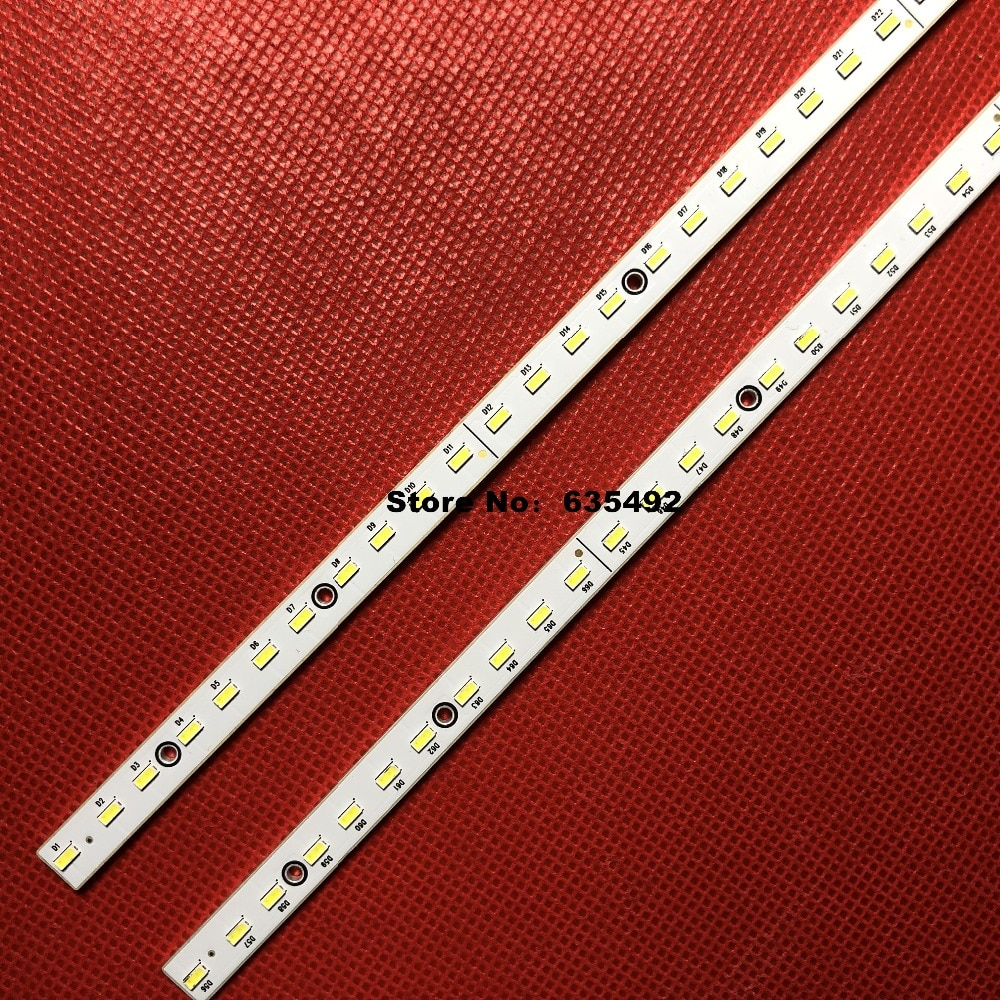 2 Pieces/lot LED Backlight  strip E187565 V400H2-LF2-TLEM1 TLEM2 V400H2-LE2-TREM1 TREM2 66LED 453MM for 40EL100C V400HJ2-LE2