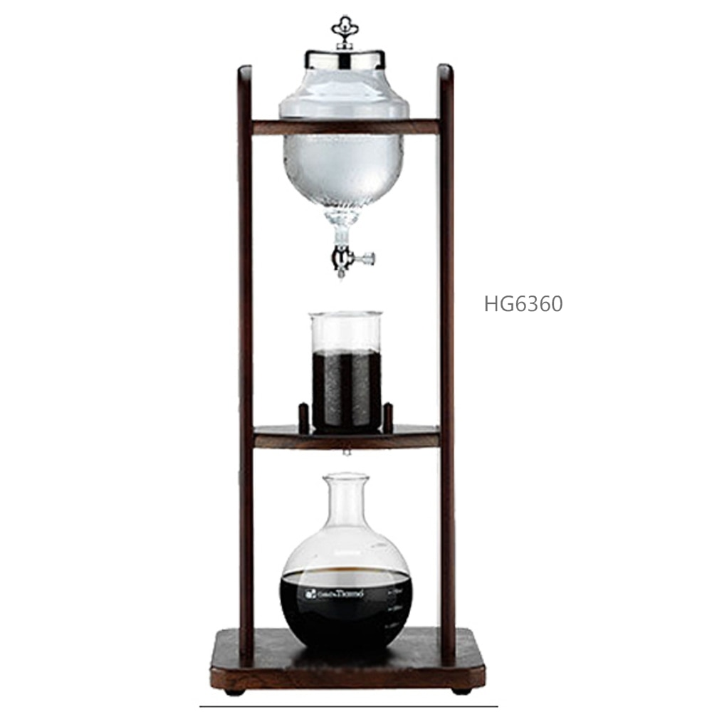 Tiamo machine à café goutte à goutte deau/machine à café goutte à goutte deau/glace et froid 10 tasses HG6360