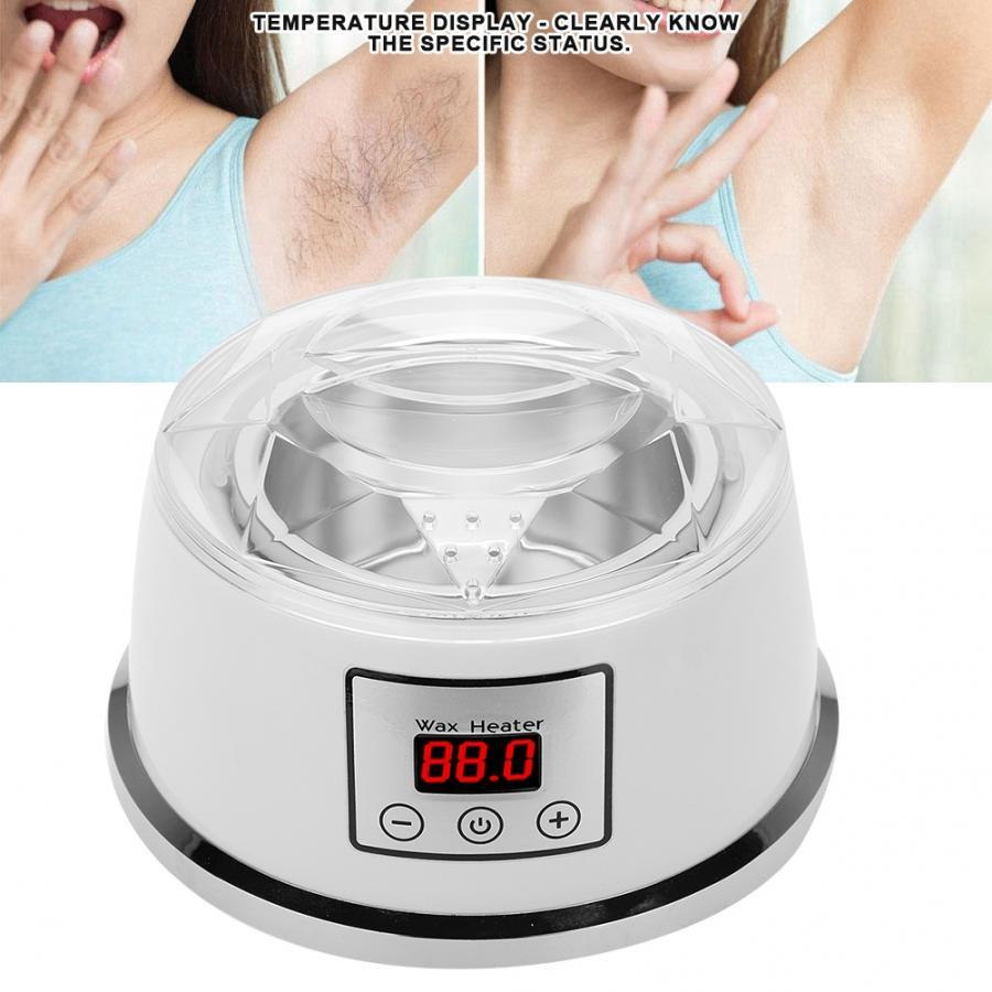 Multifuncional Control de temperatura hogar cera más caliente de la mano de la máquina de calentamiento de cera depilatoria herramientas de cera