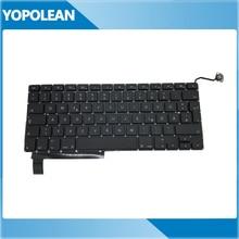 "5pcs/lot New Germany German Keyboard For Macbook Pro 15"" Unibody A1286 2009 2010 2011 2012"