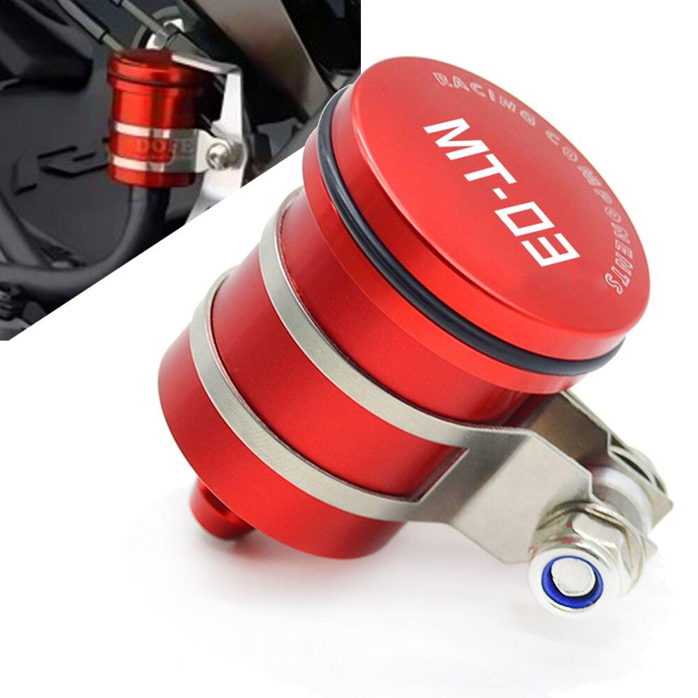 Motorcycle Brake Fluid Reservoir Clutch Tank Fluid Cup for yamaha MT-03 MT03 MT 03 2006-2016 2007 2008 2009 2010 2011 2012