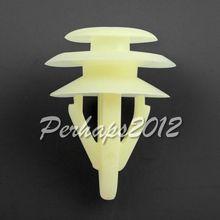 Attache du couvercle de protection arrière   OEM 20x pour Honda pour Acura clips de fixation de porte 1990 + adaptateur