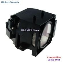 Ampoule de remplacement avec boîtier ELP45 V13H010L45 Compatible pour EPSON EMP-6010/PowerLite 6110i/EMP-6110/V11H267053/V11H279020