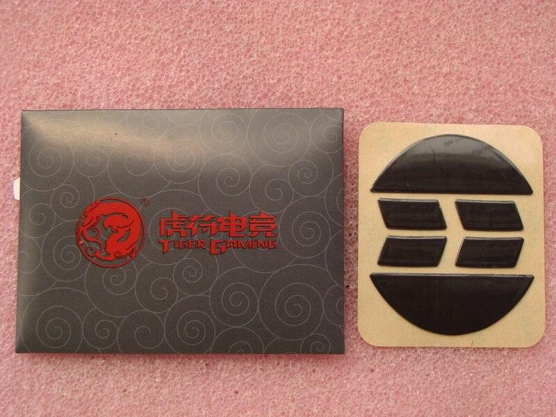 2 jogos/pacote original Tiger Gaming mouse Rato Pés para Razer Abyssus patins 2014