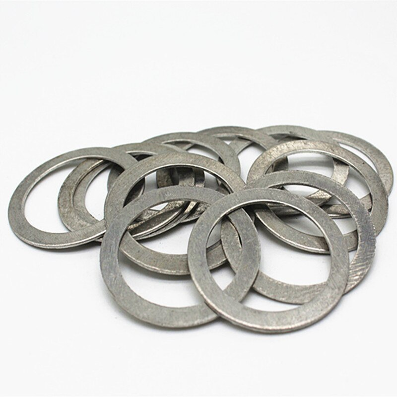 M3 M4 m5 m6 m8 m10 m12 M14 M16 M20 M22 M24 M26 M27 M30 алюминиевое уплотнительное кольцо металлическая прокладка раздавливающая шайба плоское уплотнительное кольцо прокладка