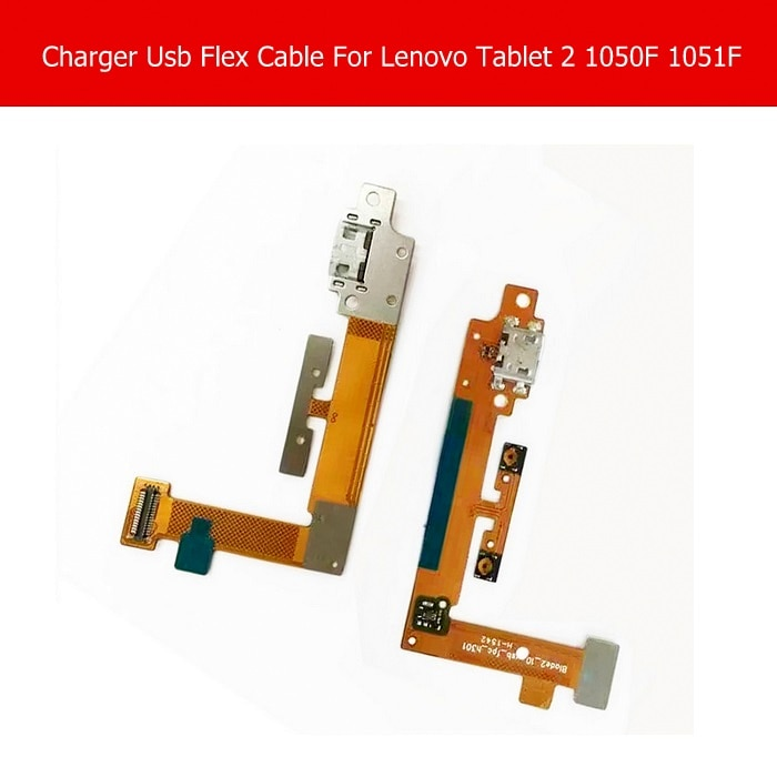 Cable flexible de conector de carga USB genuino para Lenovo Yoga tablet 2 1050F 1051F, Cargador USB con Cable flexible blade2_10_usb _ fpc_h301