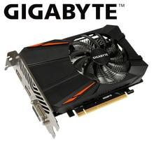 Gigabyte tarjeta gráfica gtx 1050ti por GTX 1050 Ti GPU de gigabyte gtx 1050 1050ti GV-N105TD5-4GD GDDR5 4GB video tarjeta para pc