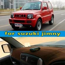 Tapis de bord suzuki Jimny   Accessoires de style de voiture, housse de tableau de bord pour suzuki Jimny large Sierra 4*4 JB23 JB33 JB43 JB53 1998-2016 rhd