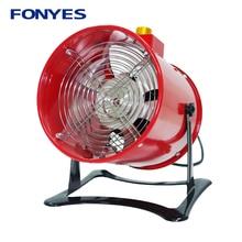 "8"" ventilation fan standing Portable Ventilador high speed desk mini extractor exhaust fan metal table axial fan 200mm 220V"