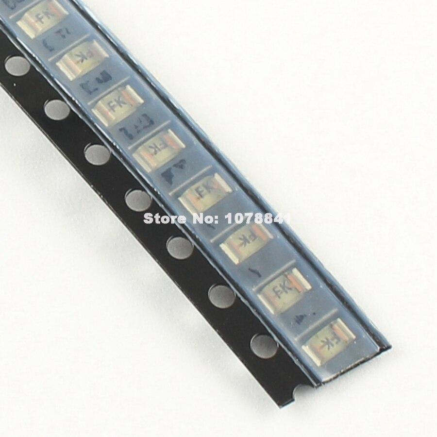 50 шт. Littelfuse SMD SMT 1206 очень быстродействующий предохранитель 1.5A с алюминиевой крышкой, 63В 42901,5 код маркировки FK