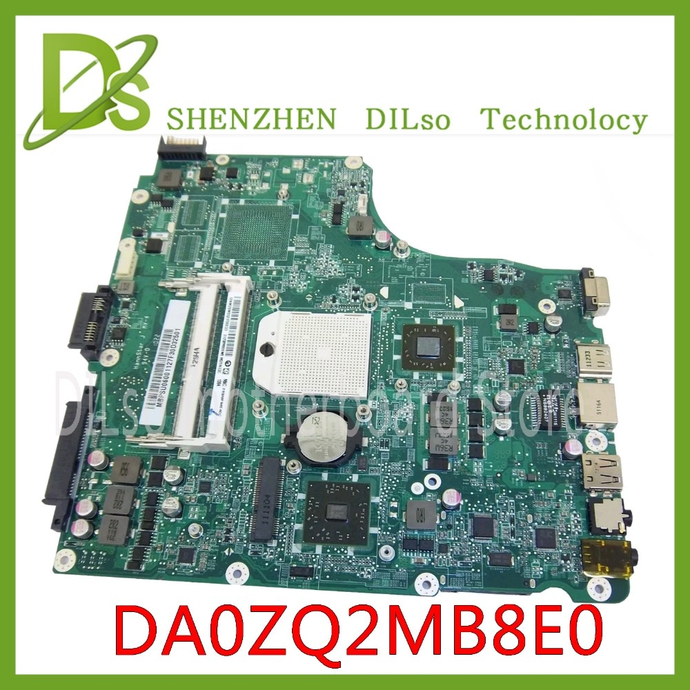 KEFU 4553 لوحة الأم للكمبيوتر المحمول Acer 4553 اللوحة الأم MB. Psuموديل DDR3 MBPSU06001 DA0ZQ2MB8E0