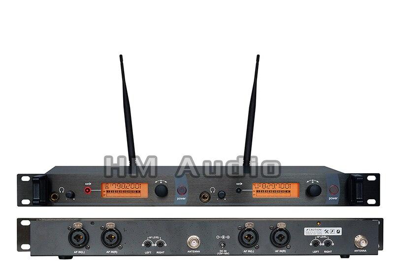 Monitor de oído sistema inalámbrico SR2050 doble monitoreo de transmisor profesional para puesta en escena sin receptor