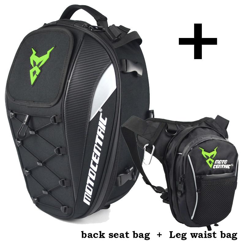High Quality Men's Waterproof Oxford Waist Bag Drop Leg Belt Hip Fanny Pack Motorcycle Tail Bag Rear Seat Bag Pack Multifunction