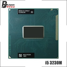 Intel Core i5-3230M i5 3230M SR0WY 2.6 GHz Dual-Core Quad-Thread CPU Processor 3M 35W Socket G2 / rPGA988B