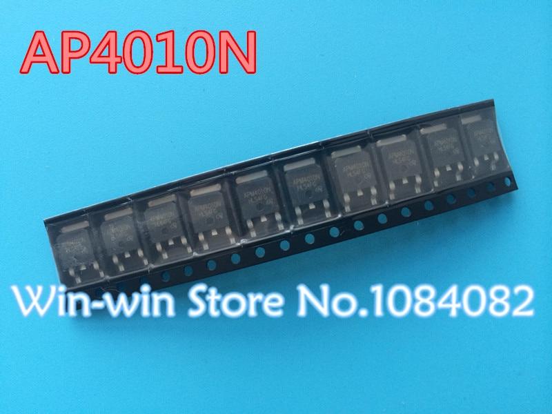 20 Stks/partij APM4010 Apm4010n Veld Effect Transistor To-252