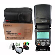 Yongnuo YN686EX-RT 2000mAh Li-Ion batería Speedlite GN60 2,4G inalámbrico HSS 1/8000s/TTL/M de luz de Flash YN686 para Canon DSLR
