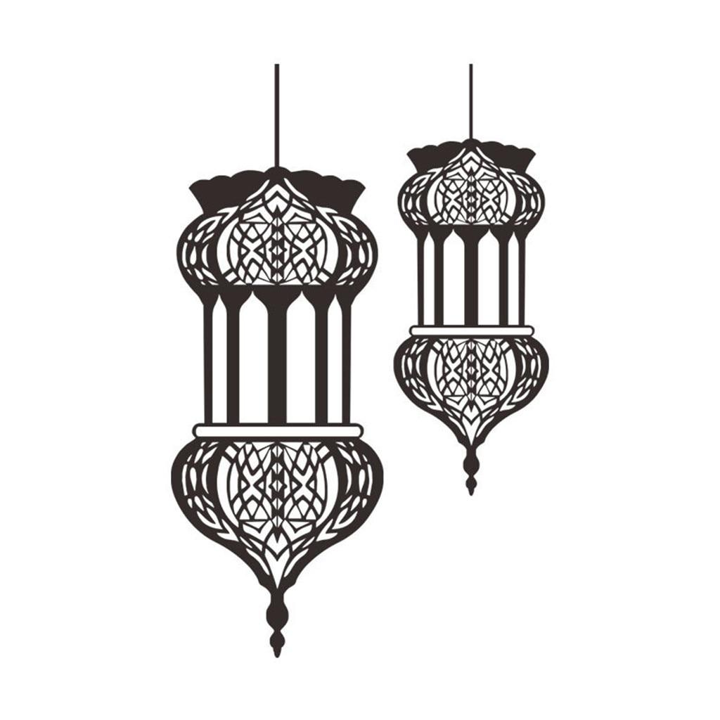 Виниловые наклейки на стену, домашний декор, спальня, Рамадан, Рамадан, Карим, ислам, сделай сам, Декор, Pegatinas сравнению