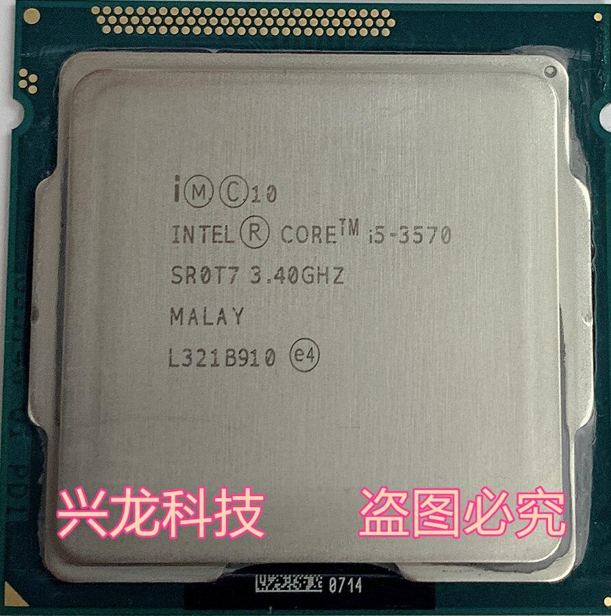 Intel I5 3570 Processor Quad-Core 3.4Ghz L3=6M 77W Socket LGA 1155 Desktop CPU