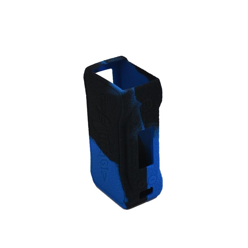 2 pcs punhal CKS 80 w Capa de silicone caso da pele envoltório e Borracha De silicone manga escudo/etiqueta para CKS punhal 80 w caixa mod