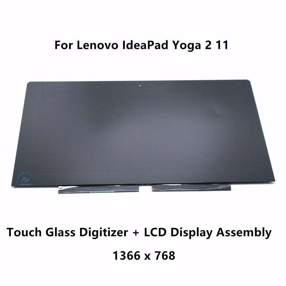 Nueva genuino para Lenovo IdeaPad Yoga 2 11 Yoga 11 S B116XAT02.0 B116XAN02.0 completa LCD pantalla táctil Pantalla de cristal de la Asamblea 11,6 pulgadas