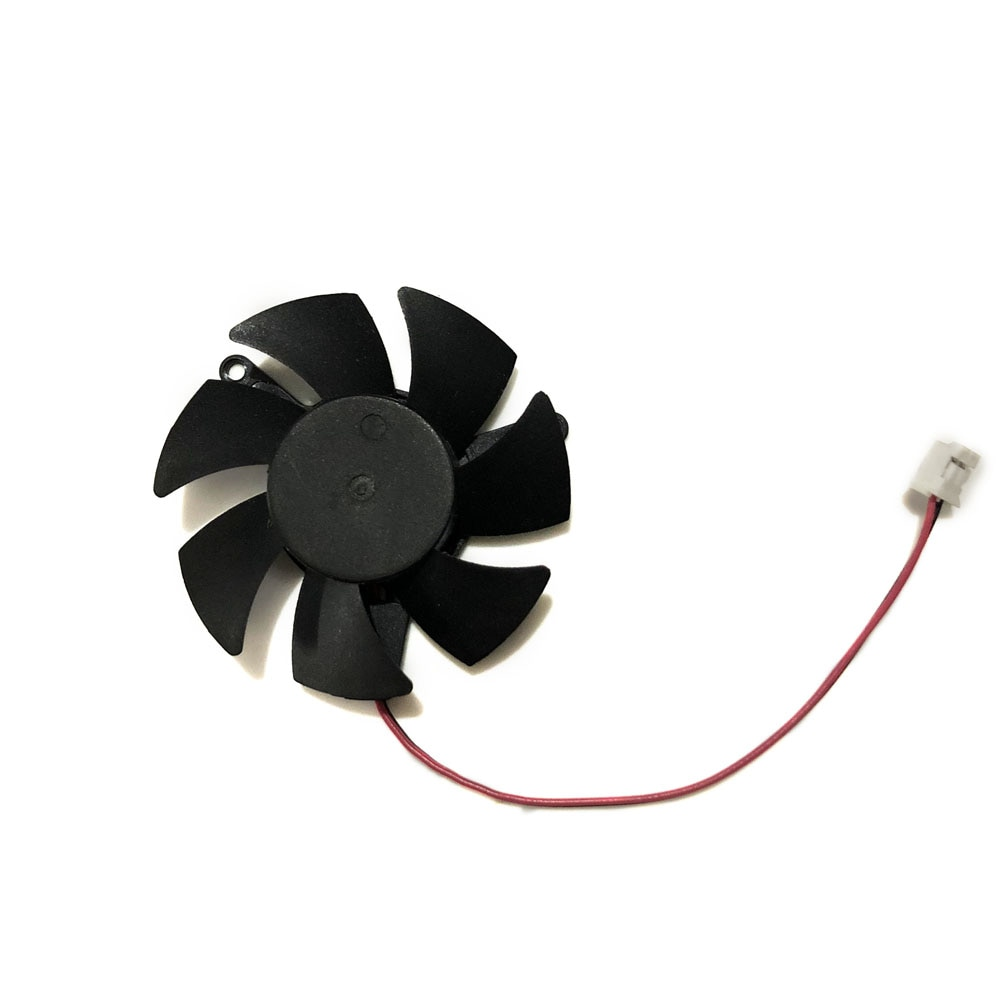 GT1030 GPU VGA cooler Diameter 45mm 0.1A 2pin graphics Card cooling Fan For MSI GeForce GT 1030 2G LP OCV1 card Cooling