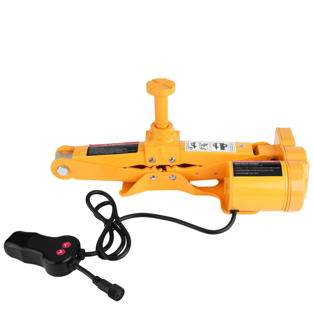 3Ton 12V Car Electric Jack Lifting SUV Automotive Garage and Emergency Equipment Lifting Jack