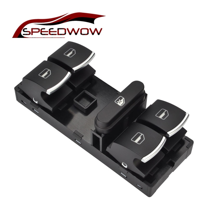 Кнопка переключения электропитания SPEEDWOW для VW Jetta Golf MK5 MK6 GTI Rabbit Passat B6 3C Tiguan 5ND 959 857