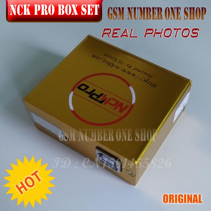 2021 The Newest Original NCK Pro box NCK Pro 2 box ( support NCK+ UMT 2 in 1) For Huawei +16cables enlarge