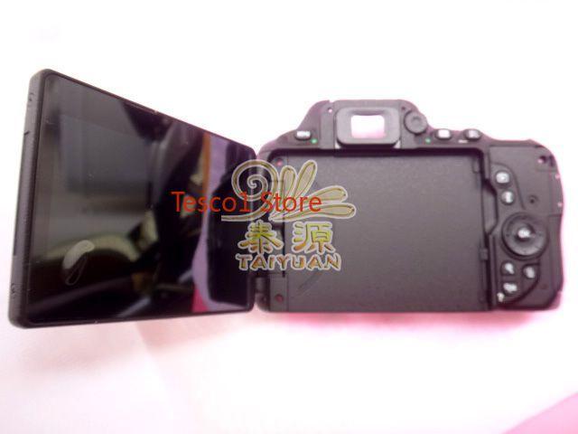 Оригинальная задняя крышка для камеры Nikon D5500, рамка + ЖК-кнопка, гибкий ключ для ремонта