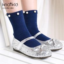 KACAKID Kinder Mädchen Socken Lolita Perlen Kinder Baby Kinder Mädchen Socken Schöne Baumwolle Komfort Baby Kinder Mädchen Socken ka1104