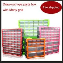 Lego Block box Klassifizierung box Viele grid auszugs typ Teile box Teile ark Das toolkit box werkzeugkoffer toolbox hohe qualität