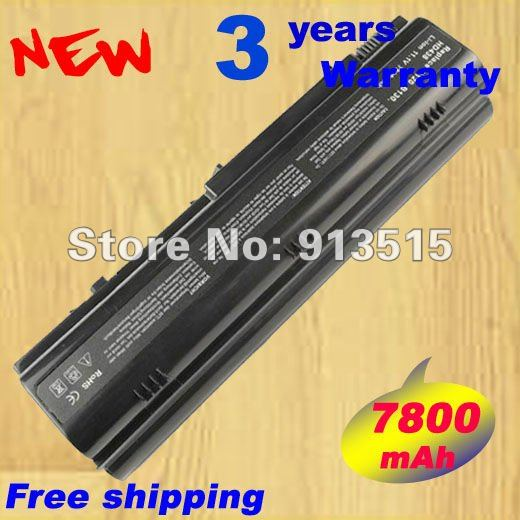 7800 mAh recargable batería KD186 TD611 TT720 para DELL Inspiron 1300 Inspiron B120 Inspiron B130