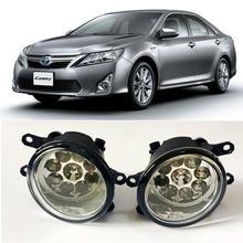 Lampe de tête antibrouillard halogène H11 H8 12V 55W   Style de voiture pour Toyota Camry hybride jp-spec 2011-up 9 pièces s Chips