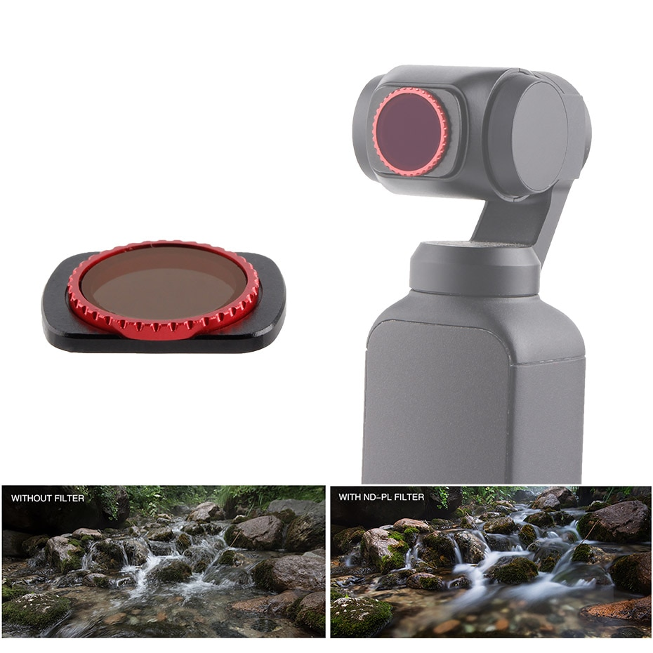 Filter CPL Polarizing With Neutral Density ND16-PL Filters Angles Adjustable For DJI Osmo Pocket 2 Macro Lens Accessories