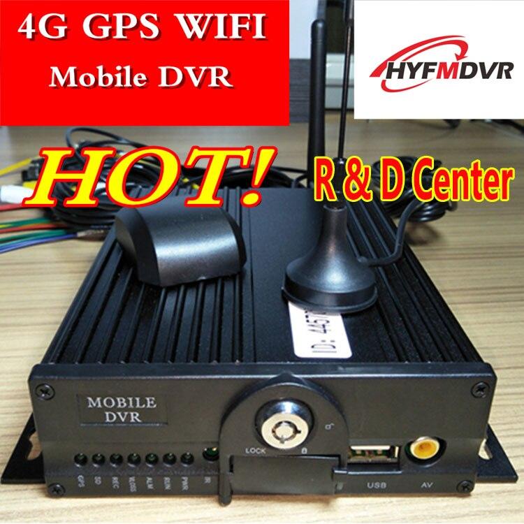 Глобальная техническая поддержка AHD WIFI, 4G GPS, мобильный, DVR автобусная остановка и док-система мониторинга, двойная карта, 4-полосный хост мони...
