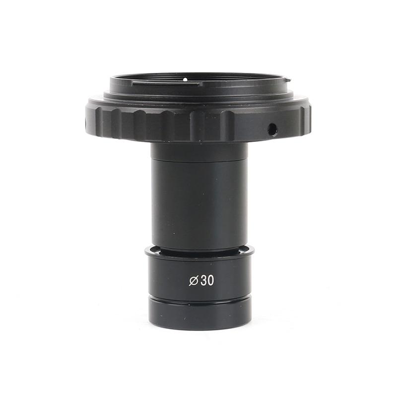 23,2mm 30mm Digital Canon Nikon SLR Cámara Adaptador interfaz T2 montaje adaptador 9.6X lente ocular para biológico estéreo Microscop
