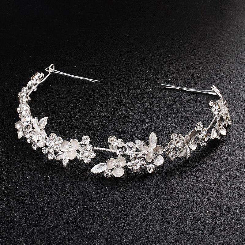 Accesorios para el pelo de la boda de la graduación del diamante...