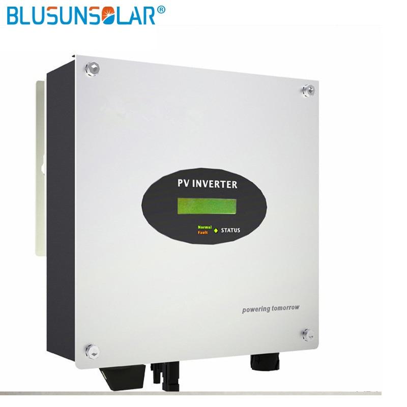 3000W عاكس متصل بالشبكة مع وحدة تحكم MPPT وشاشة Wifi ، جهاز موجة جيبية نقية