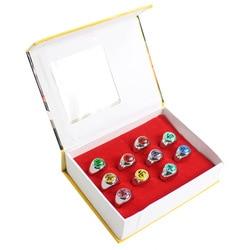 10 teile/satz Naruto Akatsuki Legierung Ring Set Pein Uchiha Itachi Ring Action-figuren Japanischen Anime Cosplay Spielzeug