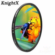 KnightX Macro gros plan caméra objectif filtre pour canon eos sony nikon d5300 18-135 200d lumière d80 dslr 500d 18-200 d5100 couleur 600d