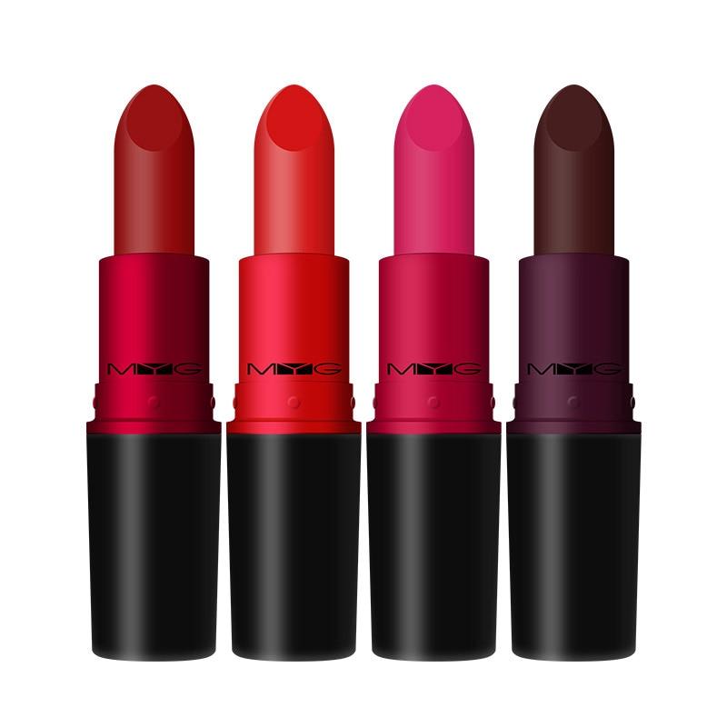 Top Quality Cosmetics 9 Colors  velvet teddy nude Lipstick Waterproof Lips Long-Lasting Moist Lipstick Matte red Lipstick Makeup