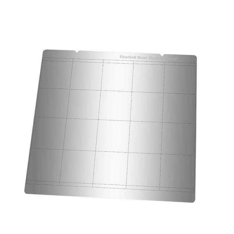 ربيع الصلب ورقة الحرارة السرير منصة Buildplate + 2 قطعة بى ورقة ل Prusa i3 Mk3 Mk2.5 JR صفقات