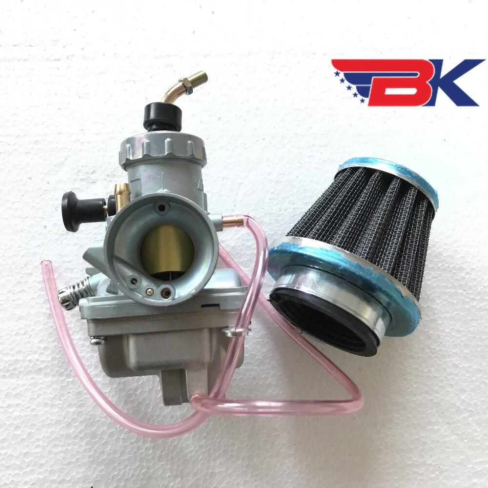 Mikuni Vergaser W/Luftfilter Für Yamaha DT175 1976-1981 DT100 1974-1980 Enduro Carb